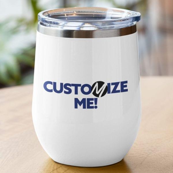 custom wine tumbler