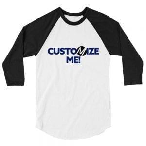 Custom 3/4 Raglan