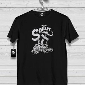 Sailing Lake Superior shirt