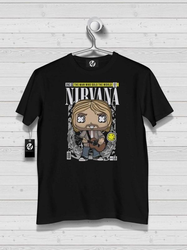 nirvana funko shirt